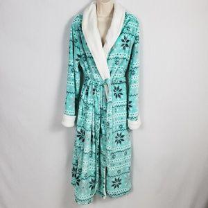 Secret Treasures Long Robe Plus Sz 2X Shawl Collar